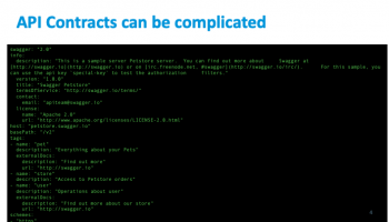 API Contracts can be Complicated